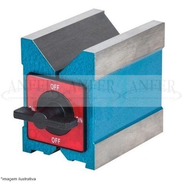 Bloco Magnetico em V 100x95x70mm