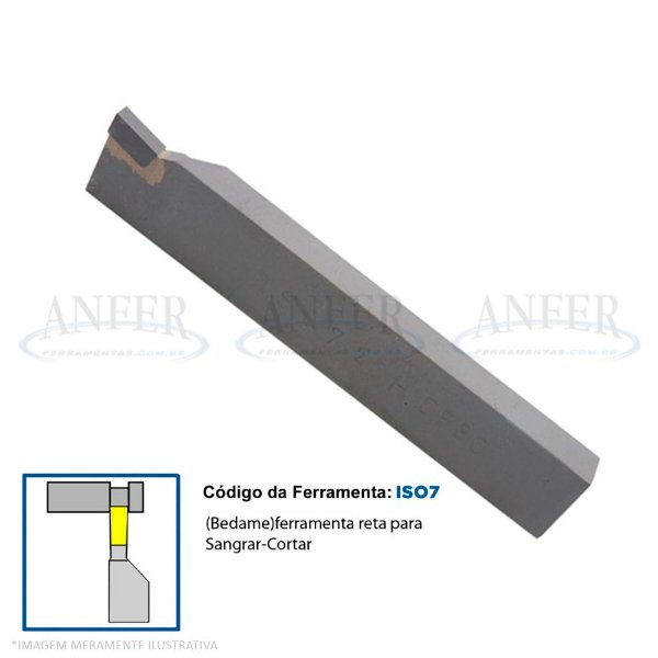 Ferramenta Soldada Bedame Canal ISO 7 2516 DP30