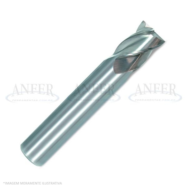 Fresa Topo Aço Rápido 4 Cortes HP-M  9.00mm