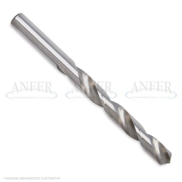 Broca Aço Rápido Haste Paralela 08,20mm DIN 338