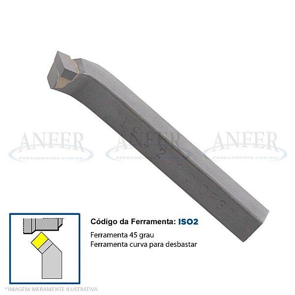 Ferramenta Soldada Curva 45° Facear ISO 2 0808 DK01