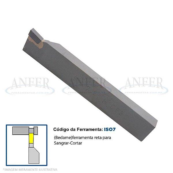 Ferramenta Soldada Bedame Canal ISO 7 2012 DP30 3mm