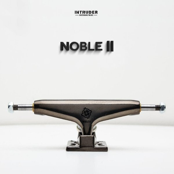 Truck Skate Intruder Noble ll Mid 139mm Black