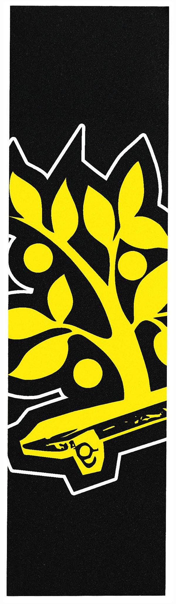 Lixa Emborrachada Wood Light Preta Logo
