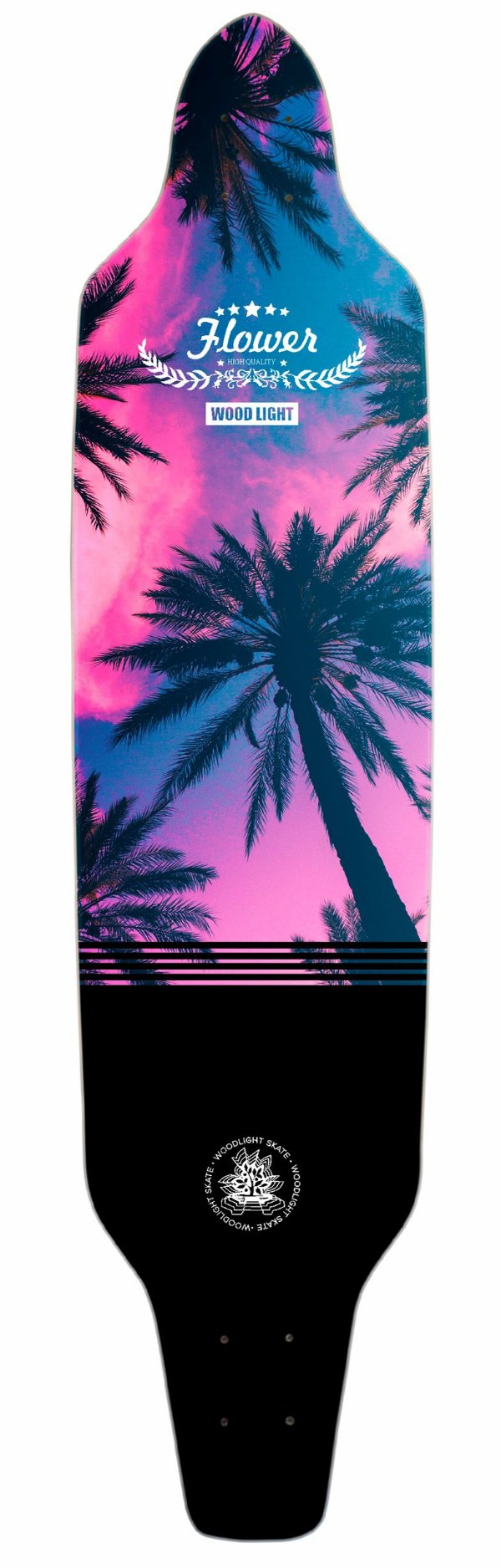 Shape Longboard Assimétrico Sunset