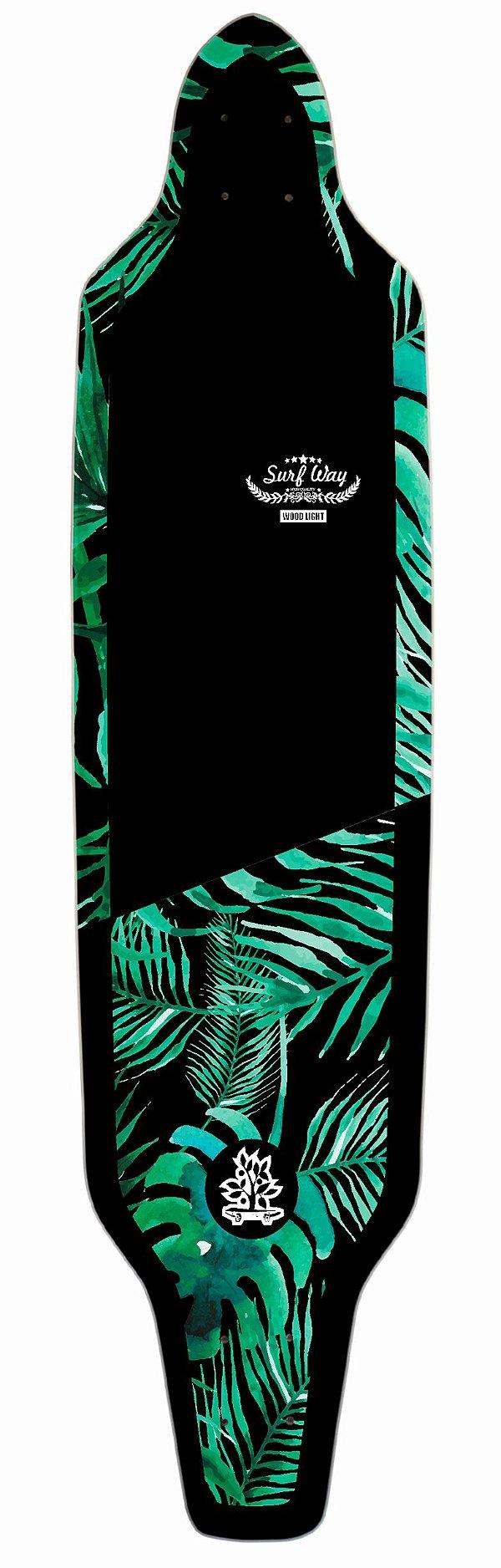 Shape Longboard Assimétrico Nature