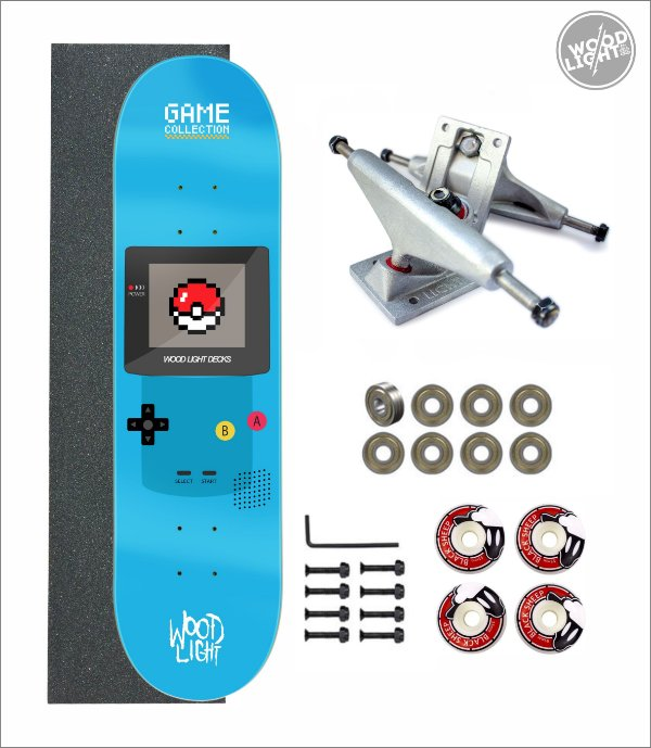 Skate Wood Light Amador Completo Gameplay