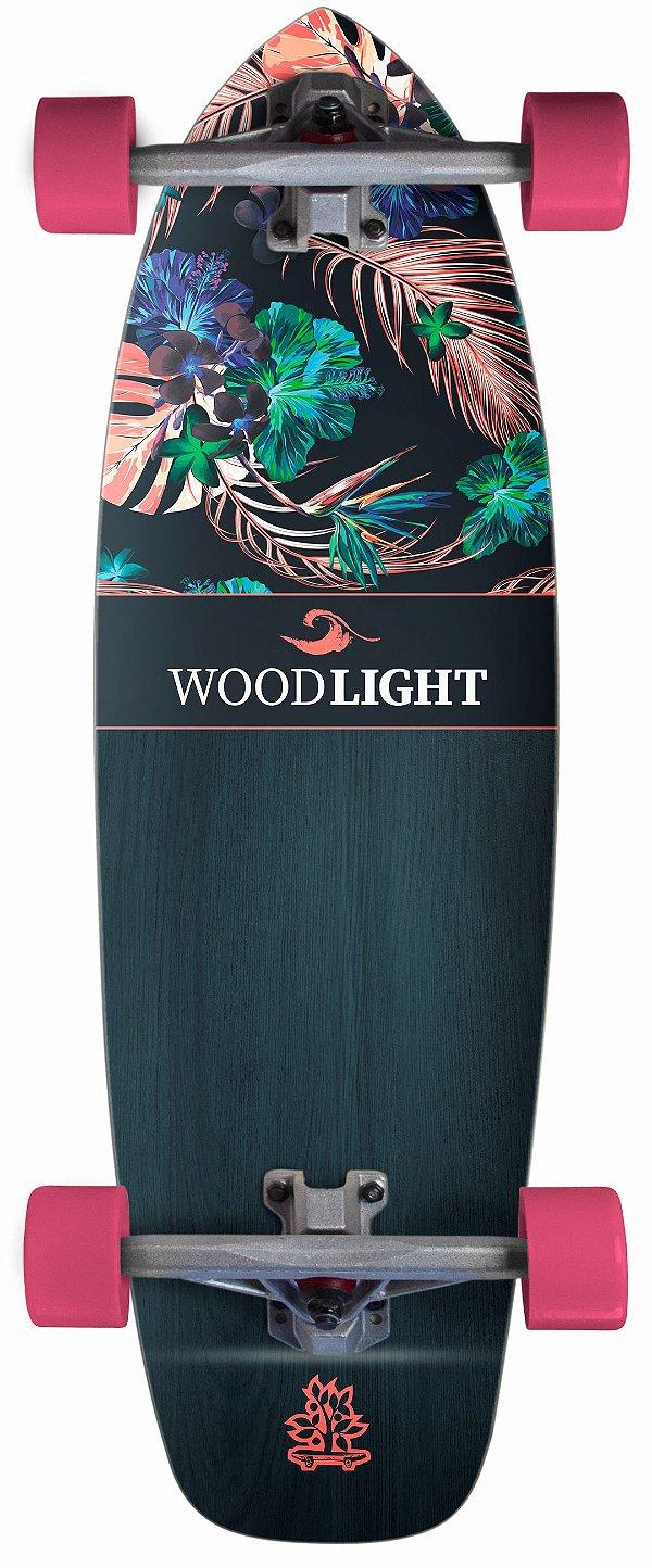 Simulador de Surf Wood Light Completo - Simple