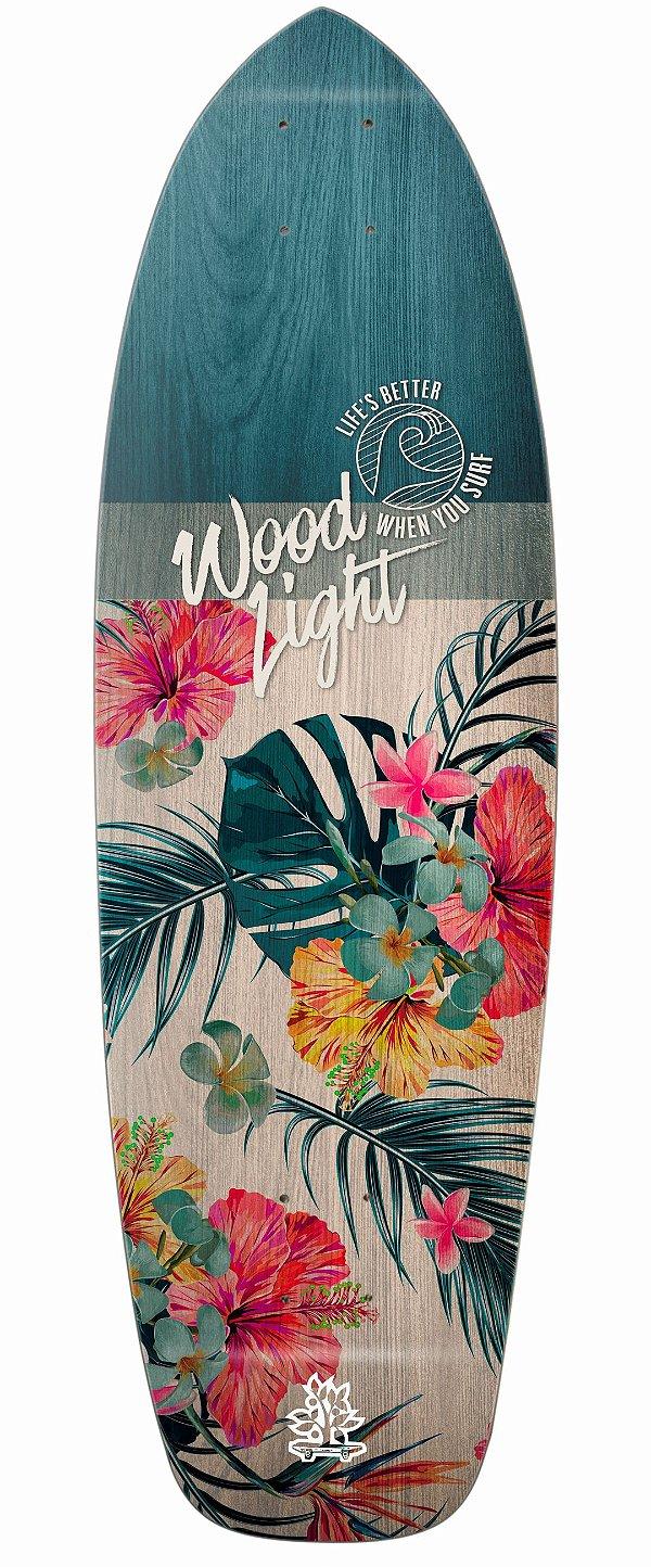 Shape Cruiser New Surf Wood Light - Floral