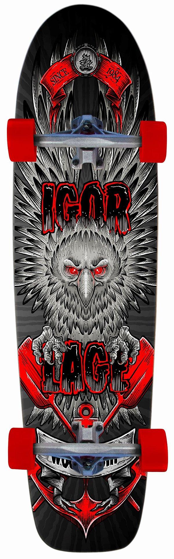 Longboard Completo Igor Lage Tu és Orgulho