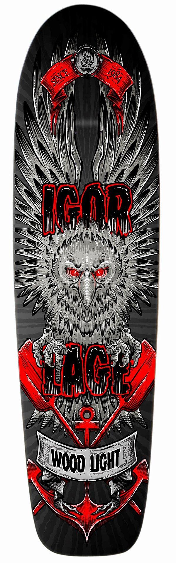 Shape Longboard Pro Model Igor Lage Tu és Orgulho