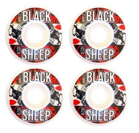 Roda Black Sheep 55mm Heart