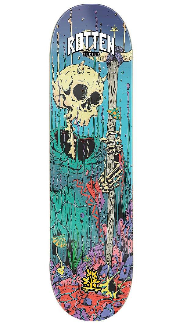 Shape de Skate Maple Rotten Wizard Skull