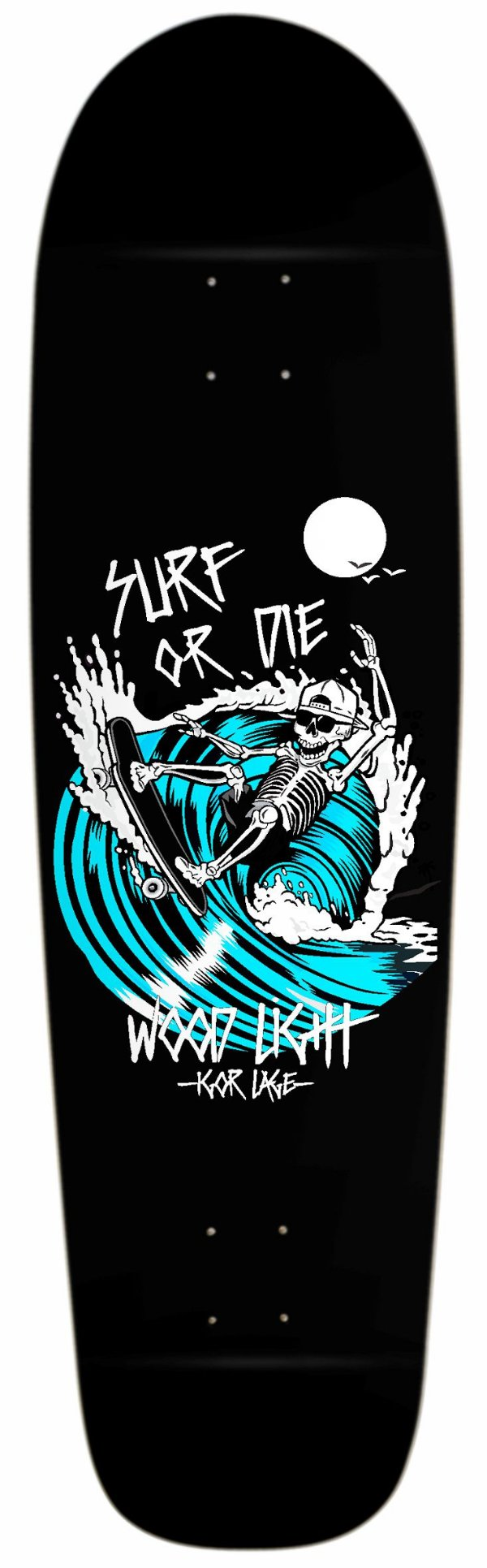 Shape Semi Long Completo Surf Or Dye Blue