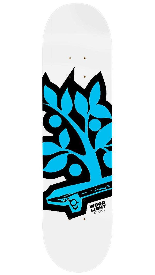Shape de Skate Logotipia Blue