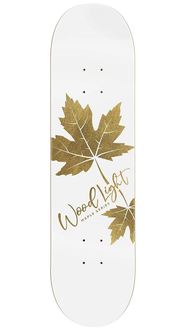 Shape de Skate Hard Maple Premium Leaves Gold