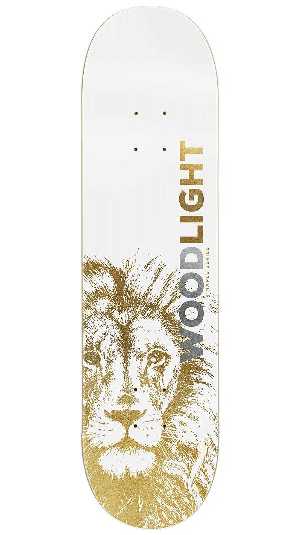 Shape de Skate Hard Maple Premium Lion Gold