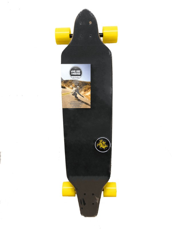Longboard Assimétrico Wood Light