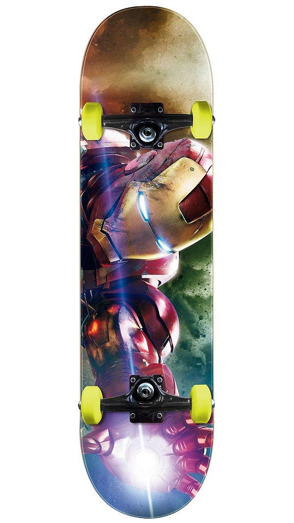 Skate Homem de Ferro Completo