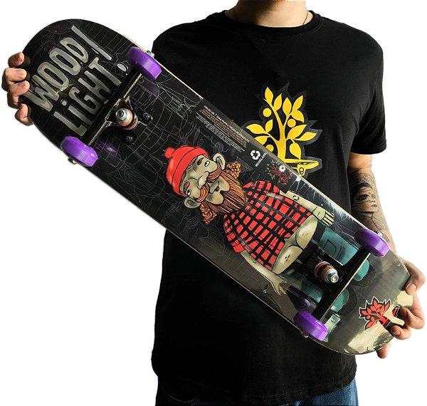 Skate Wood Light Lenhador 8.0