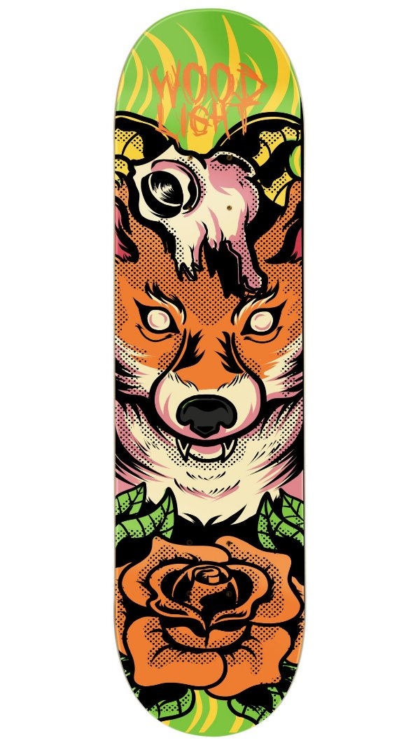 Shape de Skate The Fox
