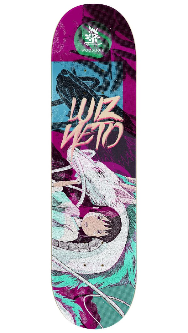 Pro Model Luiz Neto Girl and Dragon