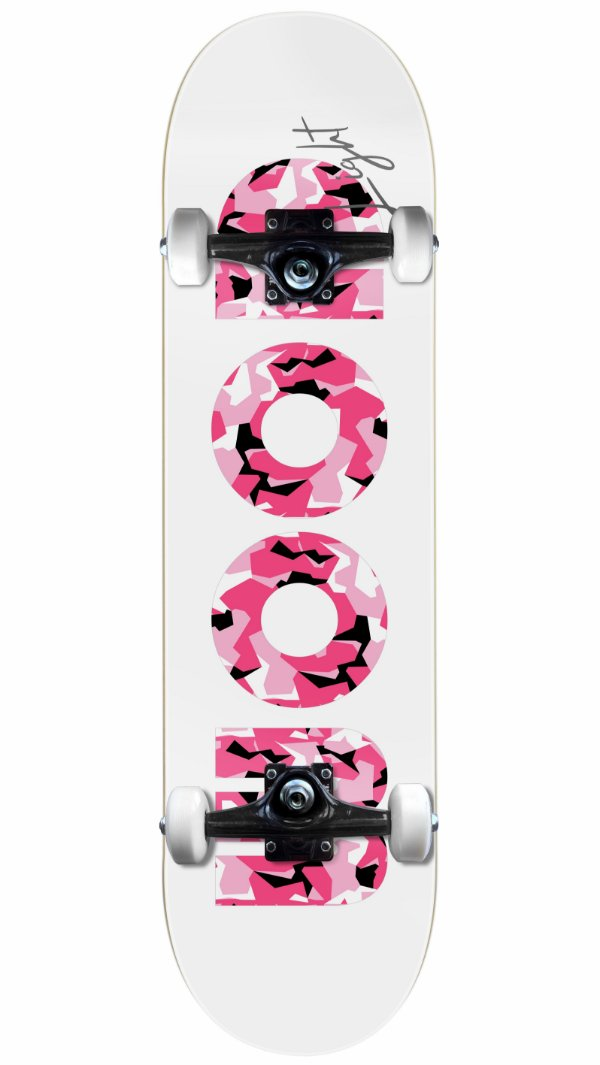 Skate Wood Light Militar Pink