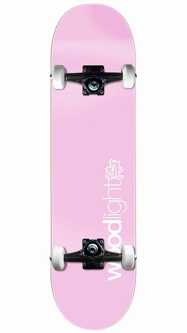 Skate Wood Light Básico Rosa