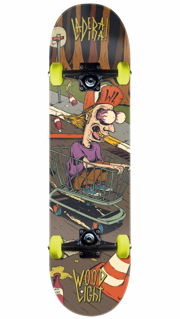 Skate Wood Light Carrinho SM