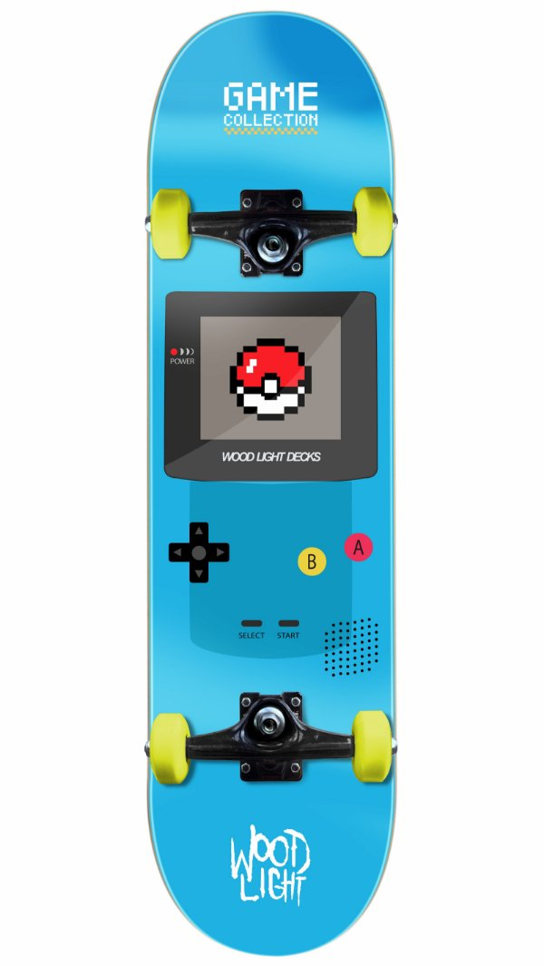 Skate Wood Light Game Play Completo