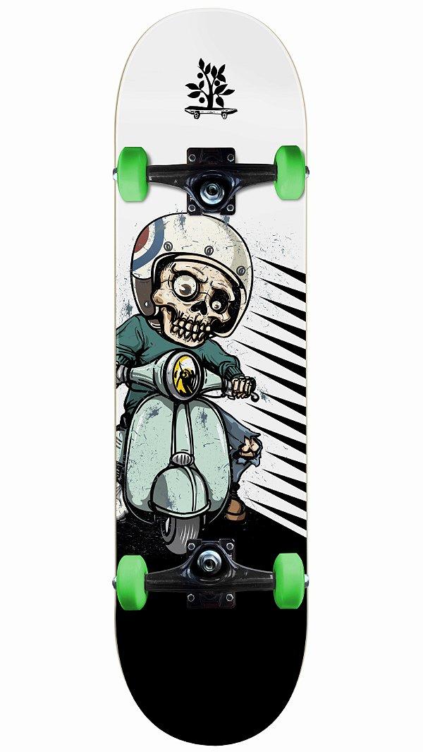 Skate Wood Light Skull Driver