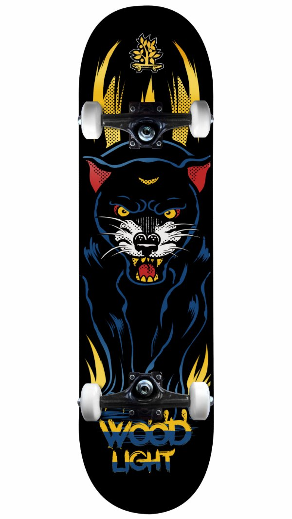 Skate Wood Light Pantera