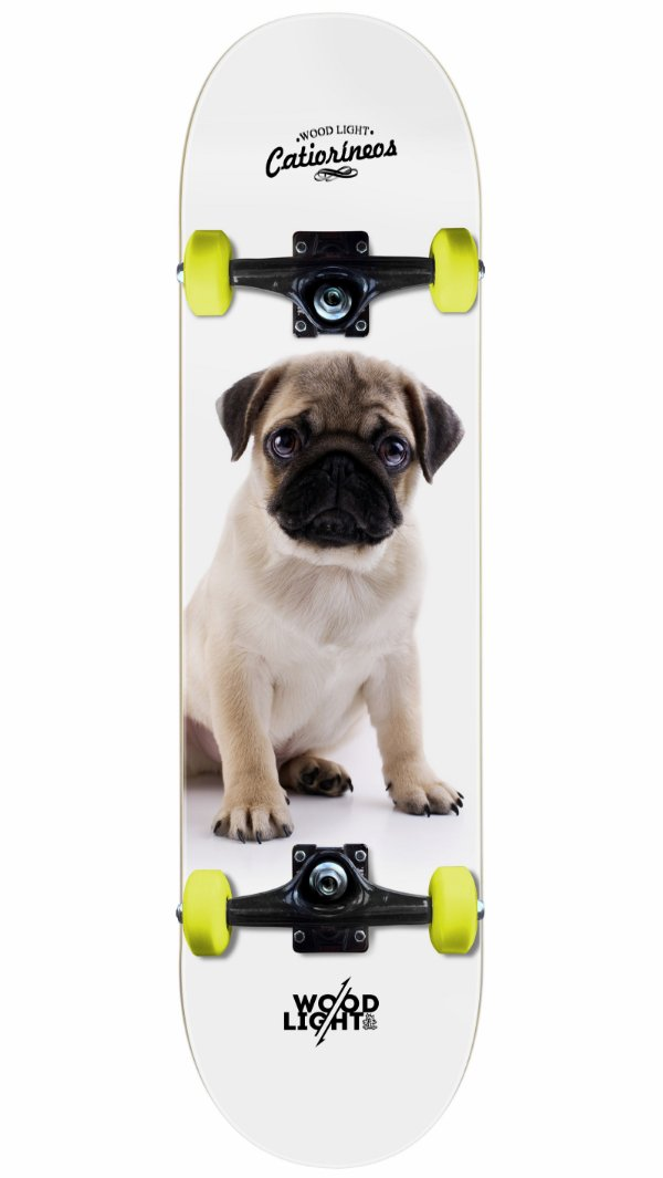 Skate Wood Light Pug