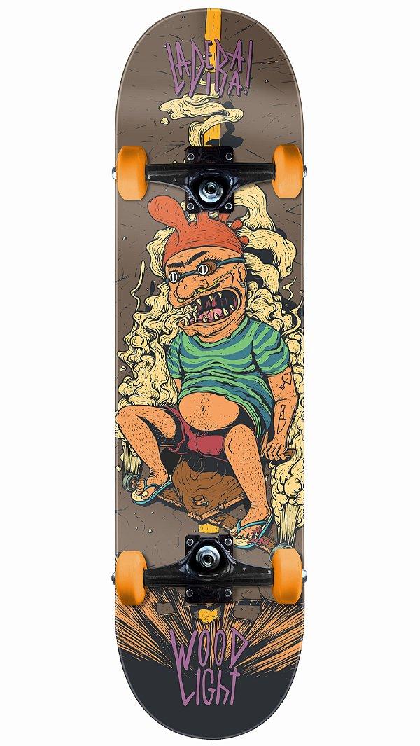 Skate Wood Light Rolimã