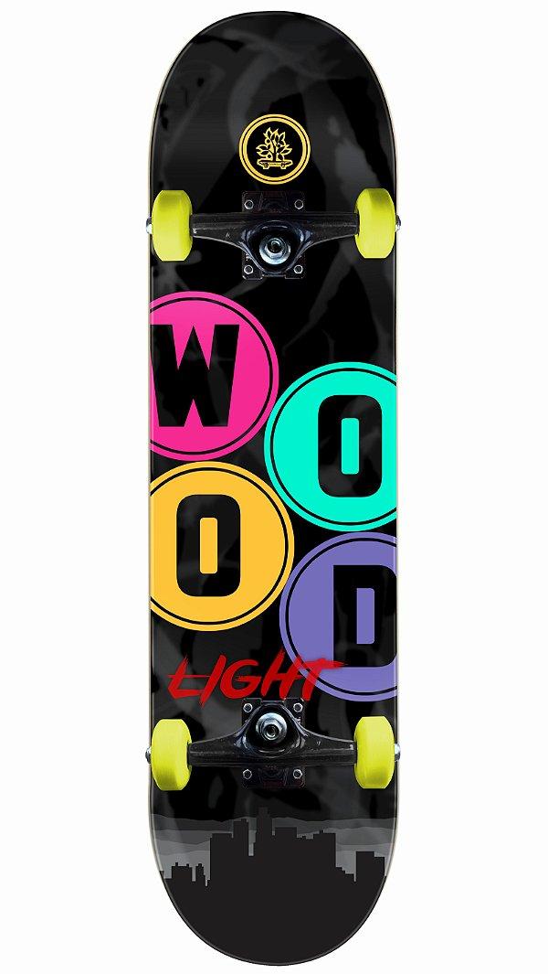 Skate Wood Light Urban Completo