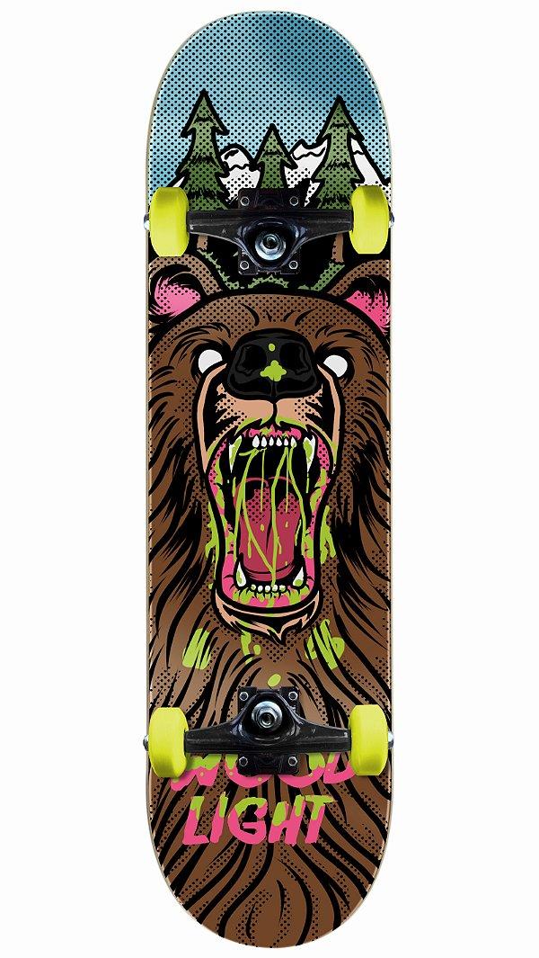 Skate Wood Light Urso