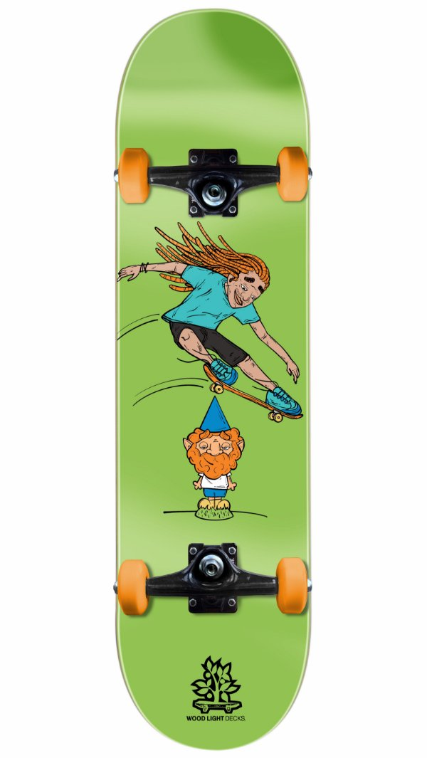 Skate Wood Light Gnomo