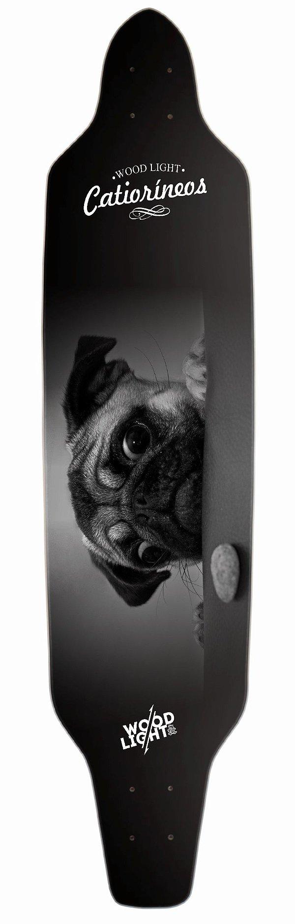 Shape Longboard Assimétrico Scared Dog