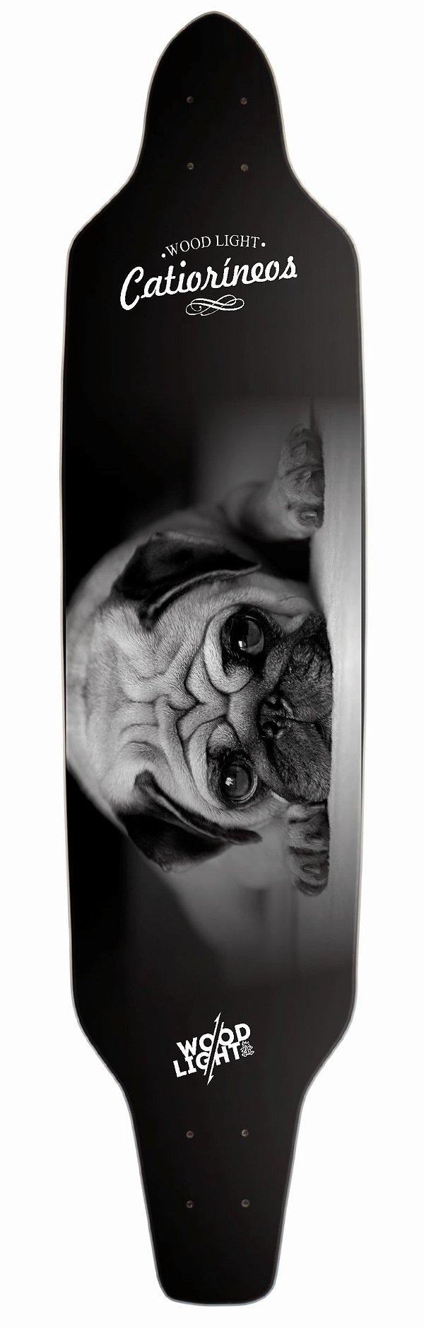 Shape Longboard Assimétrico Pug Dog