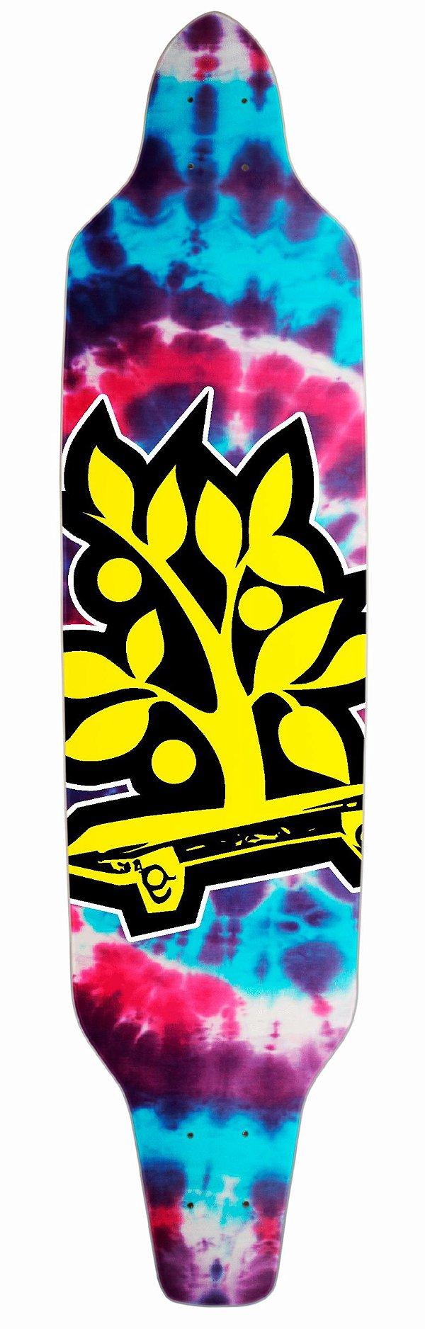 Shape Longboard Assimétrico Tie Dye