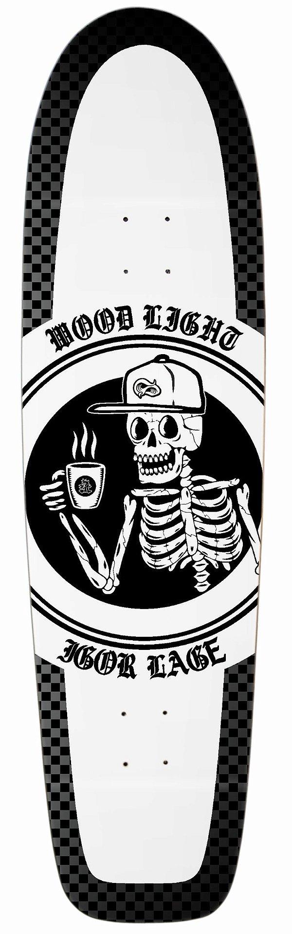 """Shape Longboard Pro Model Igor Lage 41"""" Coffee"""