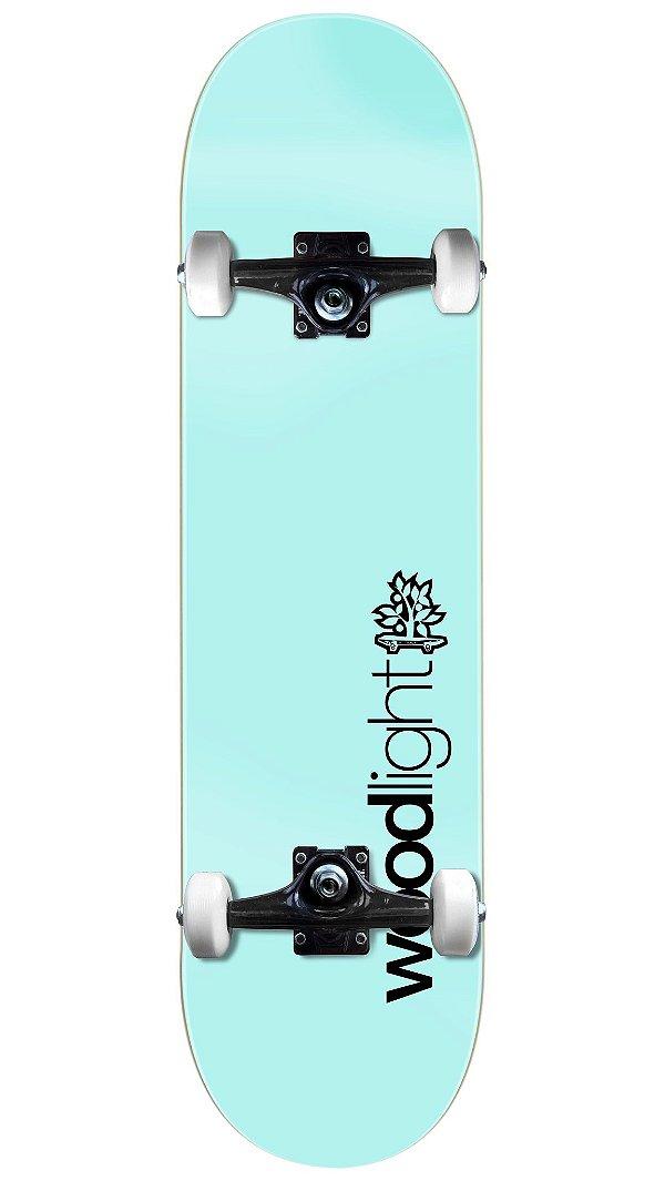 Skate Wood Light Básico Azul Completo