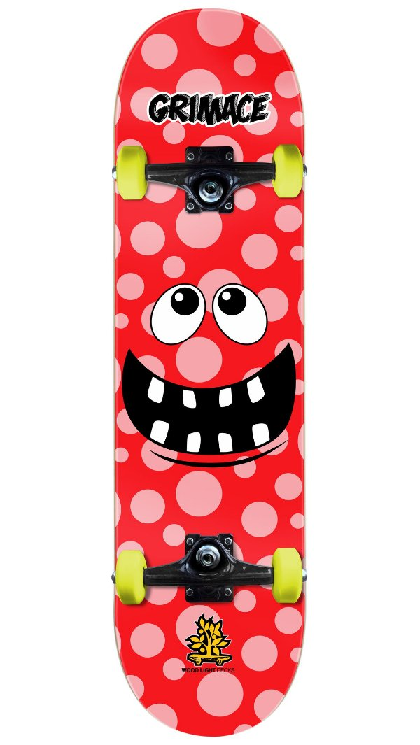 Skate Wood Light Gremace Red