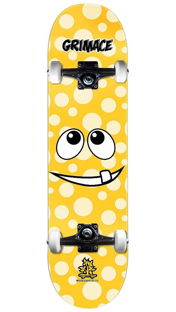 Skate Wood Light Gremace Yellow