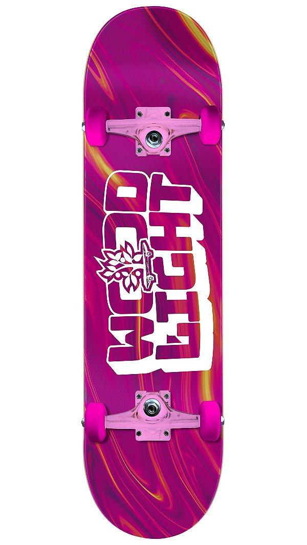 Skate Wood Light Especial Pink - Magenta