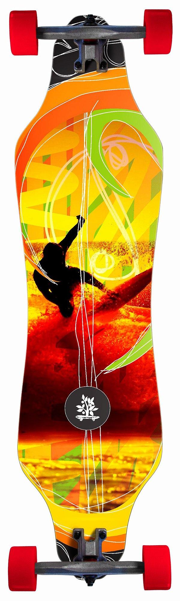 Longboard Street Curve - Surfer