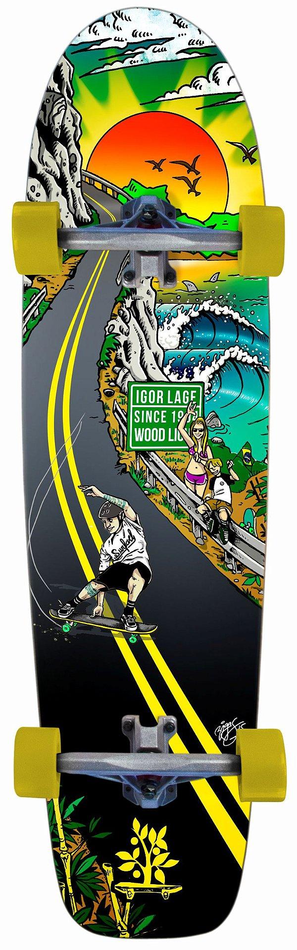 Longboard Completo Igor Lage Lifestyle