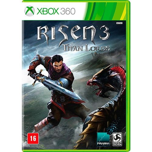 Game - Risen 3: Titan Lords - XBOX 360