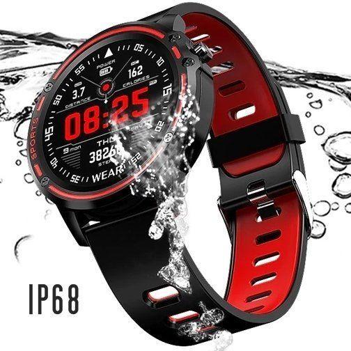 Relógio Inteligente Com Monitor Cardíaco Smartwatch L8