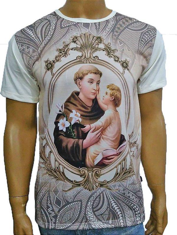 Santo Antonio moldura bege